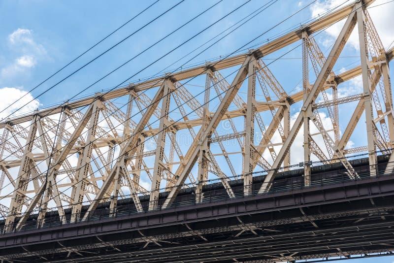 Ed Koch Queensboro most w Miasto Nowy Jork, usa zdjęcie royalty free