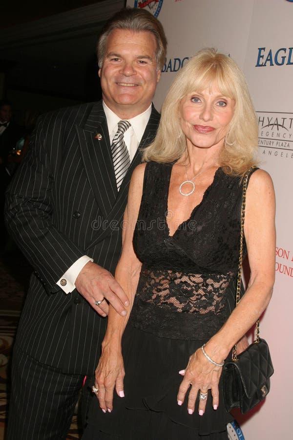 Ed Lozzi et Carla Ferrigno photographie stock