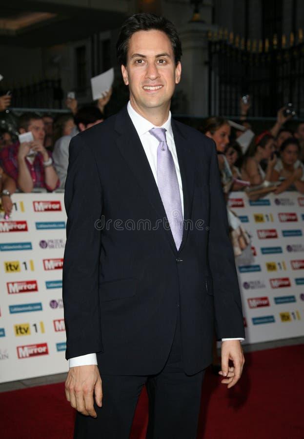 Ed Miliband imagem de stock