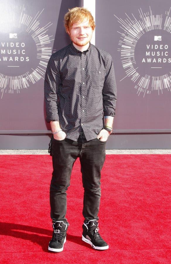 Ed Sheeran стоковое изображение rf
