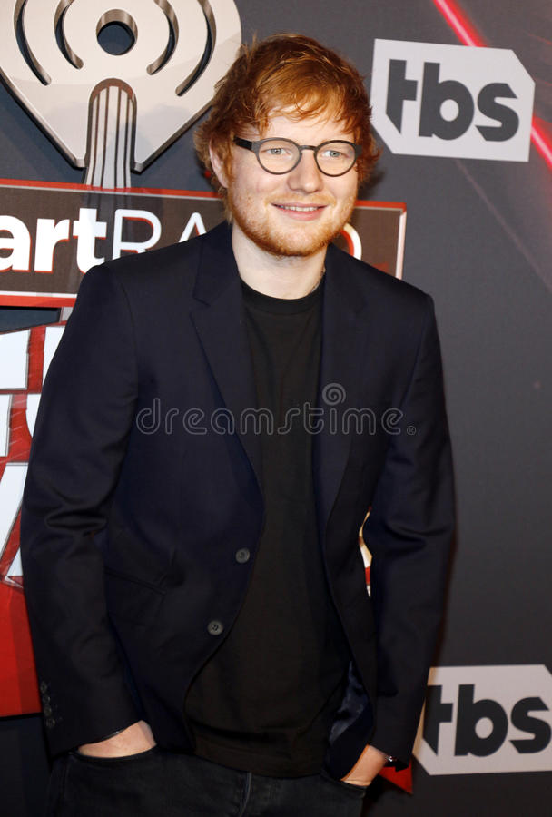 Ed Sheeran photo libre de droits