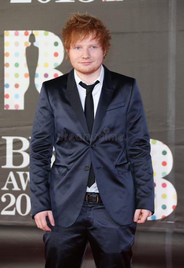 Ed Sheeran arkivbild