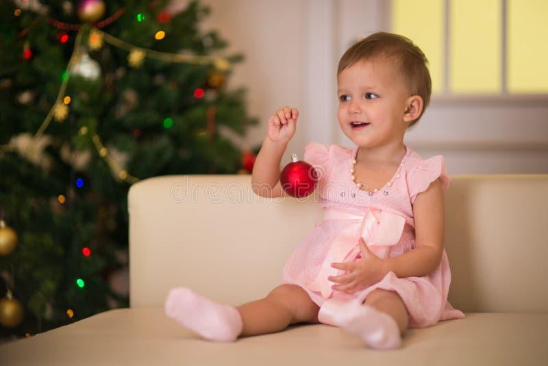 Edad del bebé de dieciocho meses fotografía de archivo libre de regalías