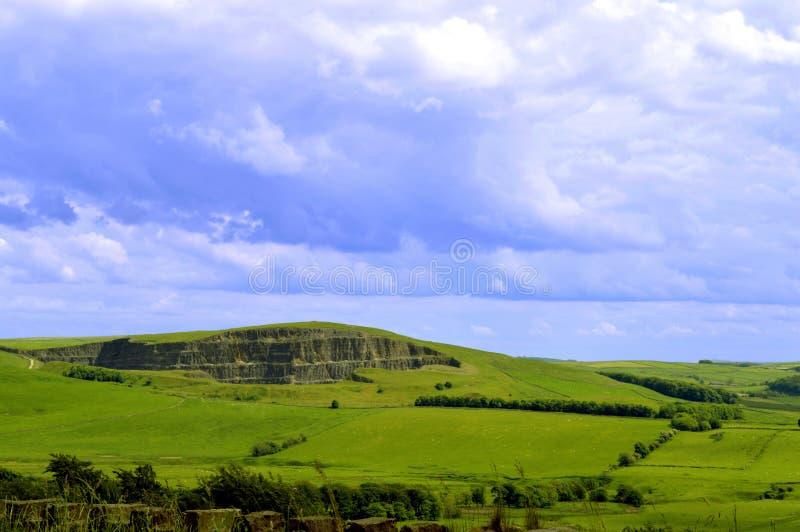 Edale en Derbyshire fotos de archivo