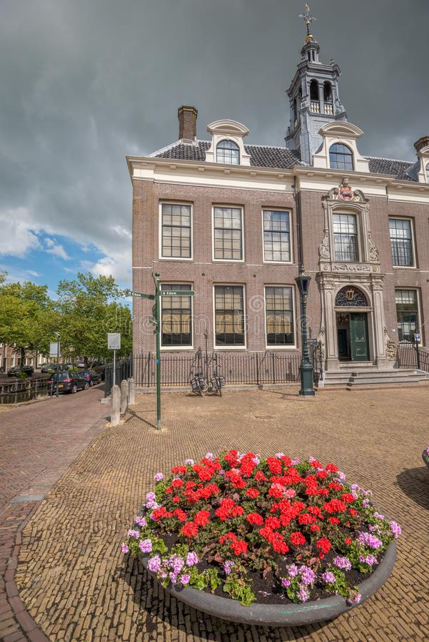 Edamcentrum, Nederland stock afbeelding