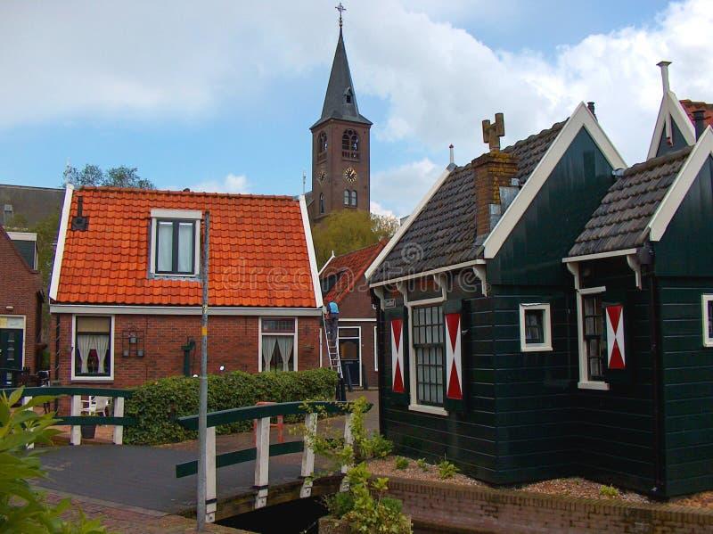 Edamer Volendam royaltyfria foton