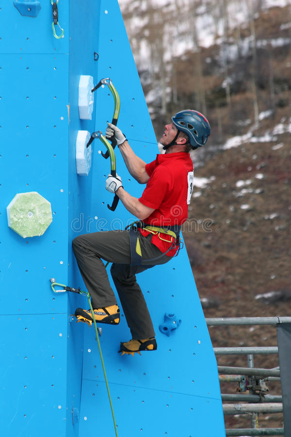 Download Eddie Bauer Mixed Climbing editorial stock image. Image of activity - 23386984