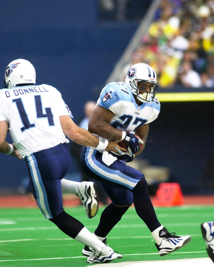 Eddie George photo libre de droits