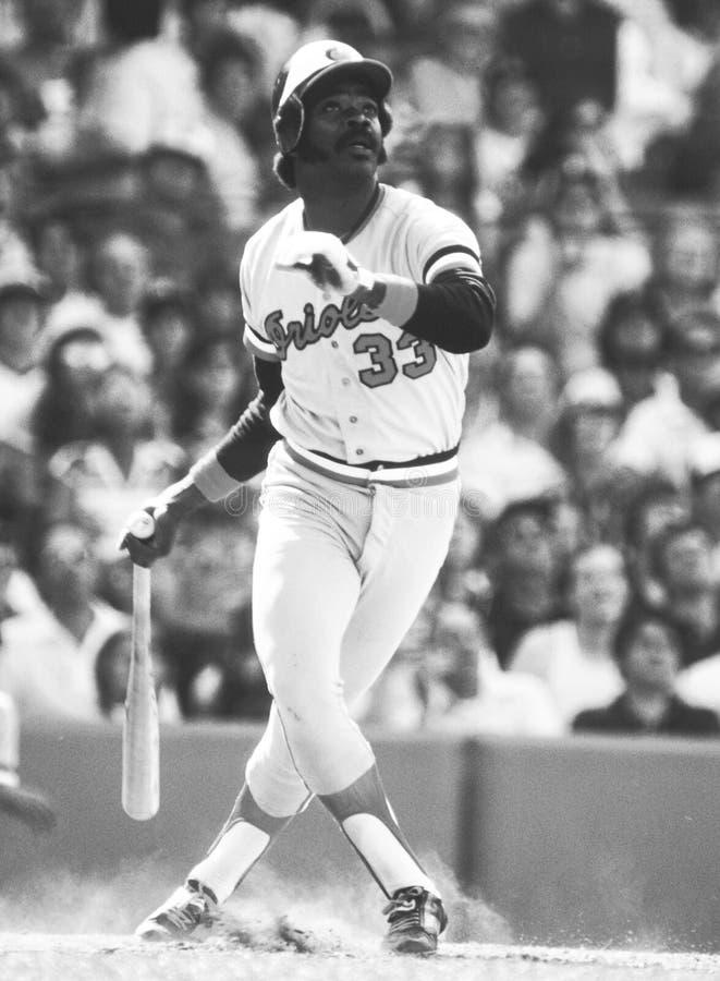 Eddie Murray Baltimore Orioles photo libre de droits