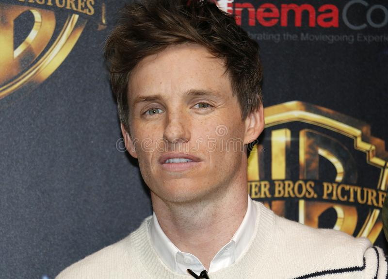 Eddie Redmayne photographie stock