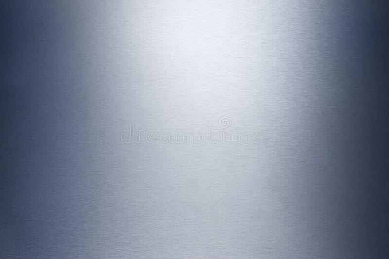 Edelstahl-Metallhintergrund stockfotos