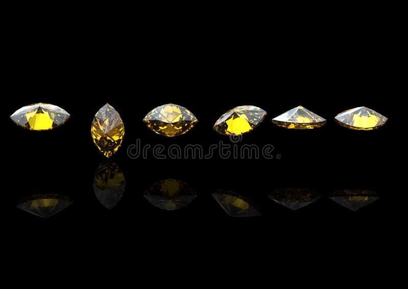 Edelsteinhintergrund diamant stockfotos