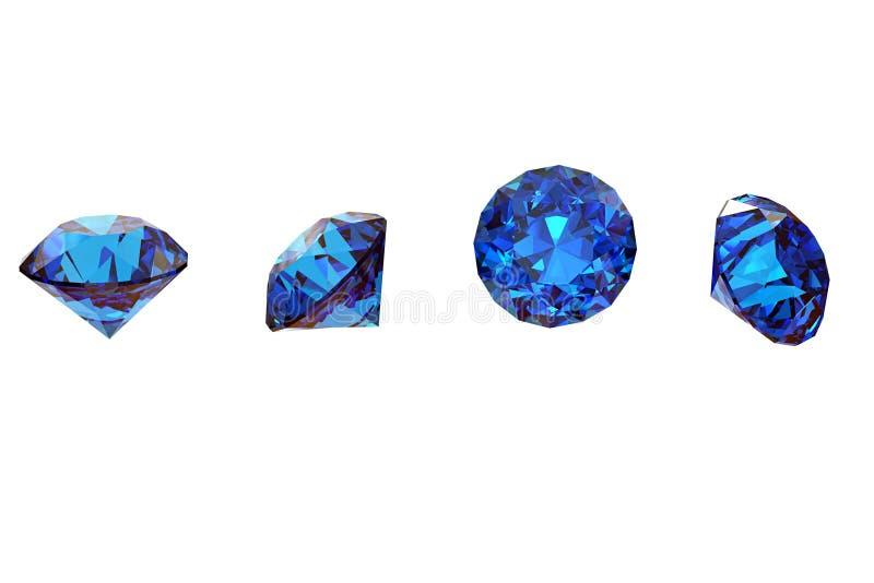 Edelsteinhintergrund diamant stockbild