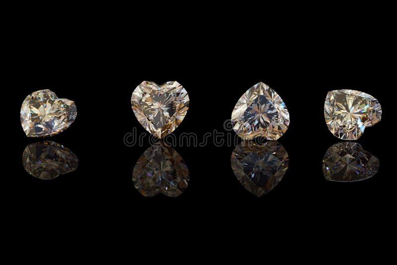 Edelsteinhintergrund diamant lizenzfreie stockfotografie