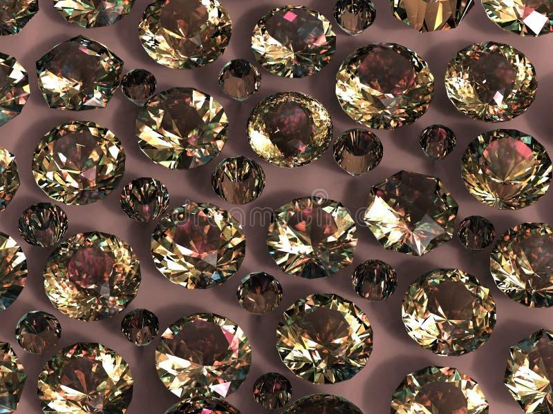 Edelsteinhintergrund diamant lizenzfreie stockfotos