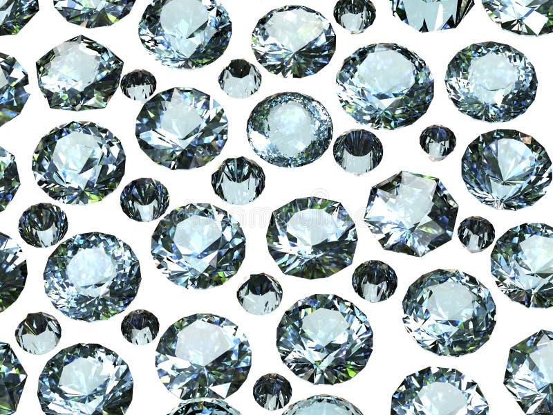Edelsteinhintergrund diamant lizenzfreie stockbilder