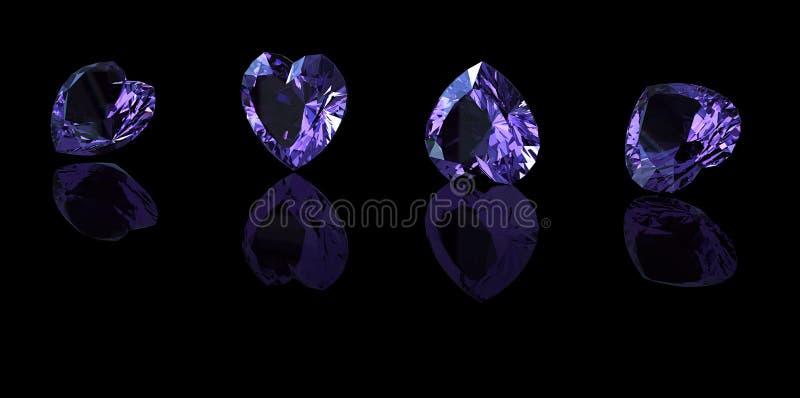 Edelsteinhintergrund diamant lizenzfreies stockbild