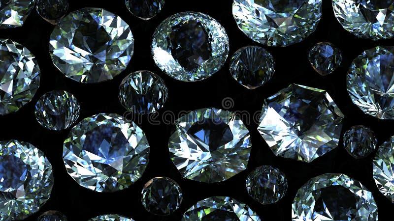 Edelsteinhintergrund diamant stockfotografie