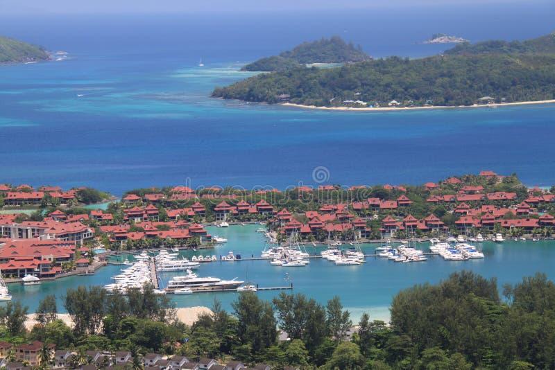 Eden Island Seychelles fotografia stock libera da diritti