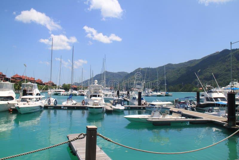 Eden Island Seychelles fotografia stock
