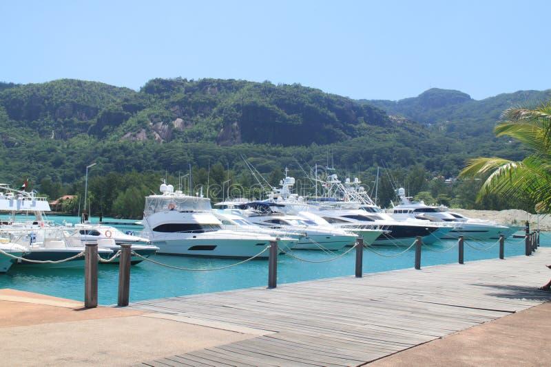 Eden Island Seychelles fotografie stock libere da diritti