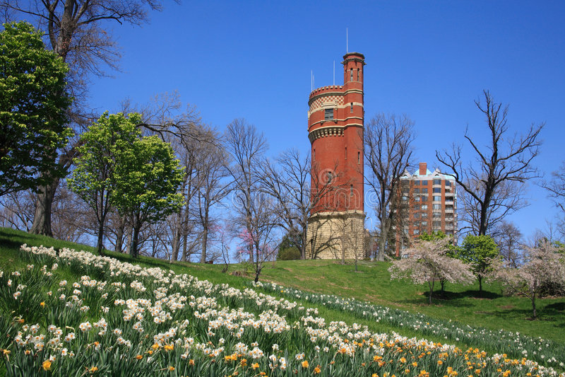 Download Eden Park Water Tower Stock Image - Image: 9280751