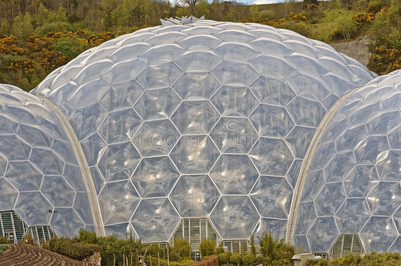 Eden Project stockfoto