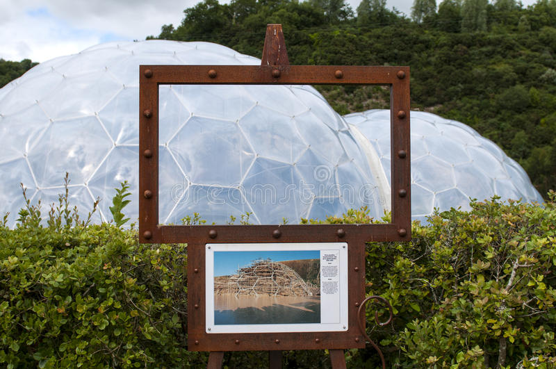 Eden Project stockbilder