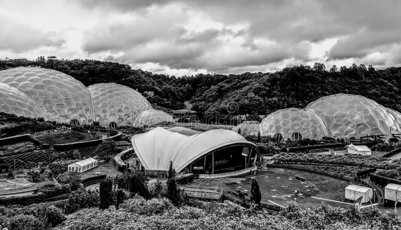 Eden Project fotos de archivo