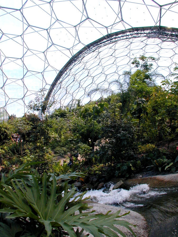 Free Eden Project - Biome Royalty Free Stock Photos - 16608