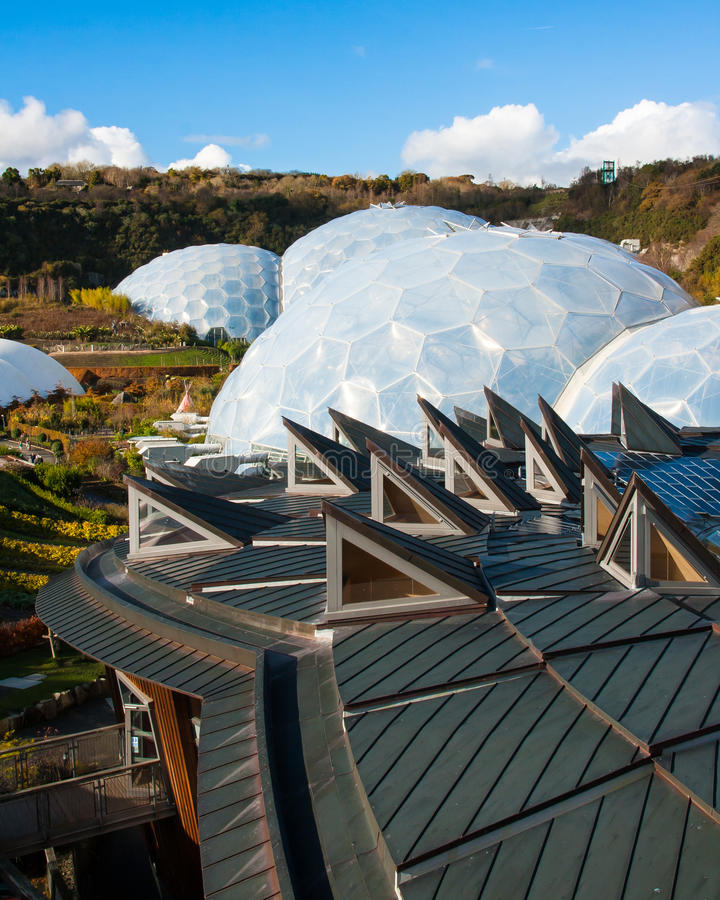 Download Eden Project Cornwall stock image. Image of ecosystem - 27664033