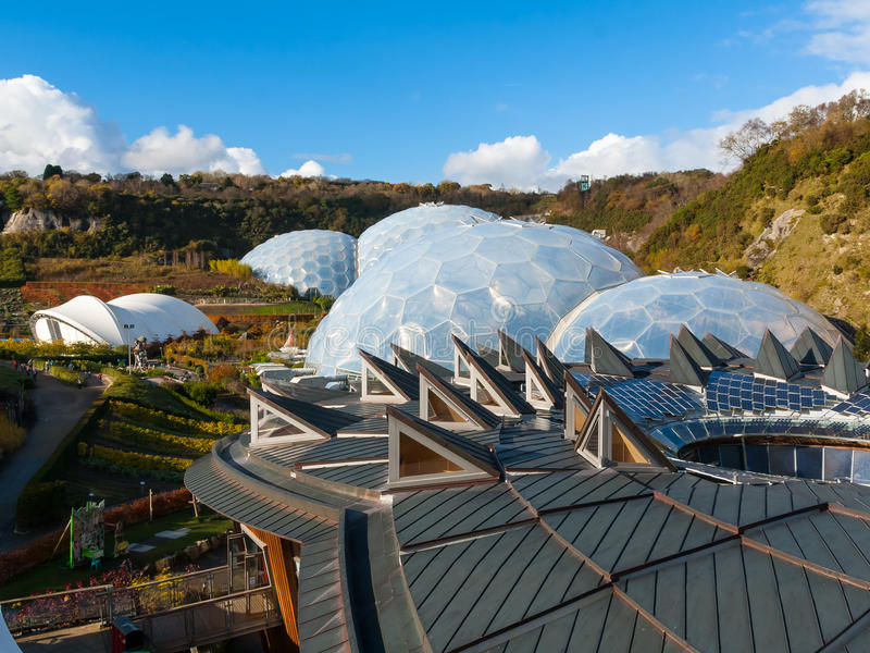 Download Eden Project Cornwall stock image. Image of outside, travel - 27664097