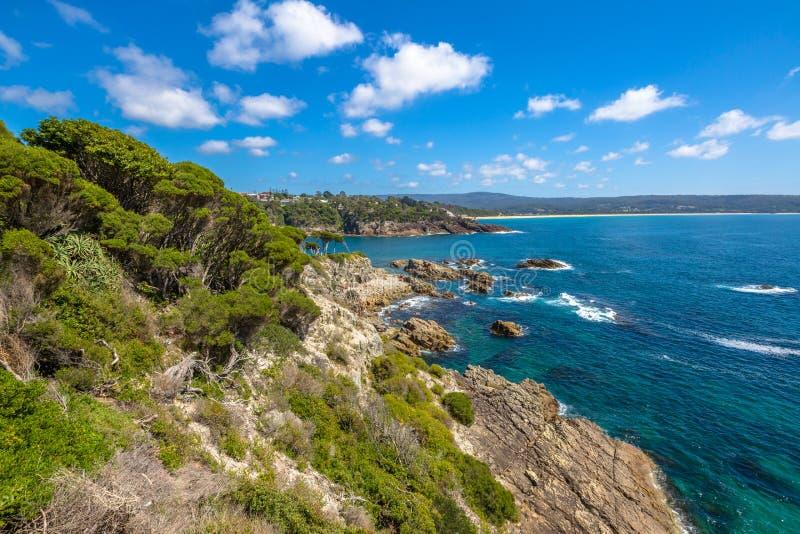 Eden: safirkust, New South Wales royaltyfri bild