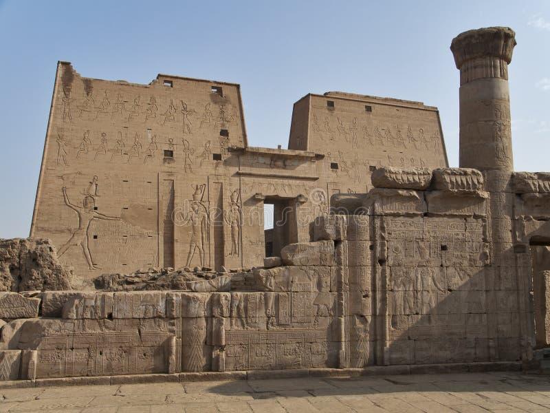 edfu Egypt świątynia fotografia stock
