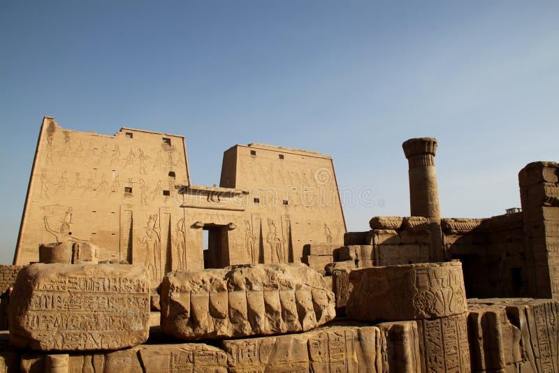 edfu Egypt świątynia obraz royalty free