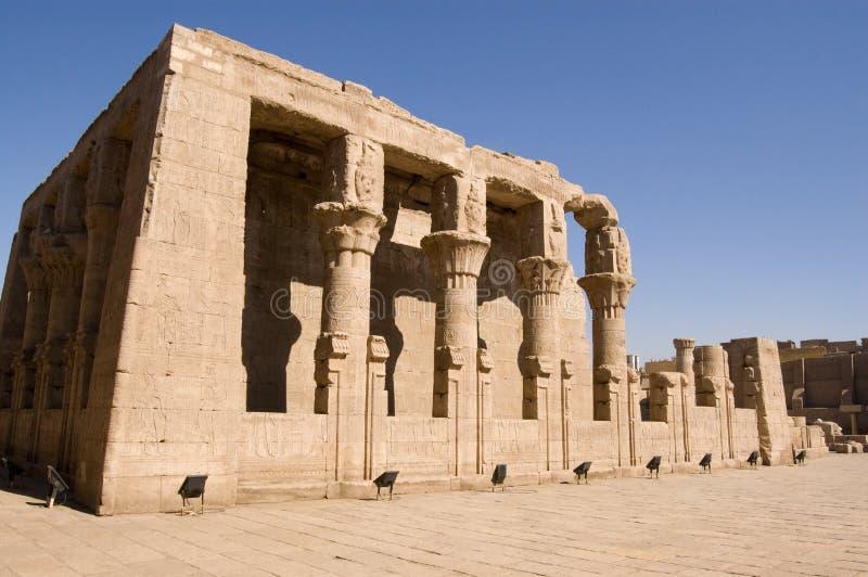 edfu Egypt horus mamissi świątynia obrazy stock