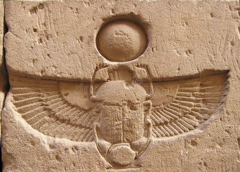 Download Edfu temple, Egypt, Africa stock photo. Image of beetle - 94342