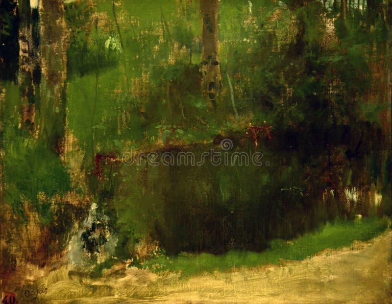 Edgar Degas Painting royaltyfria bilder