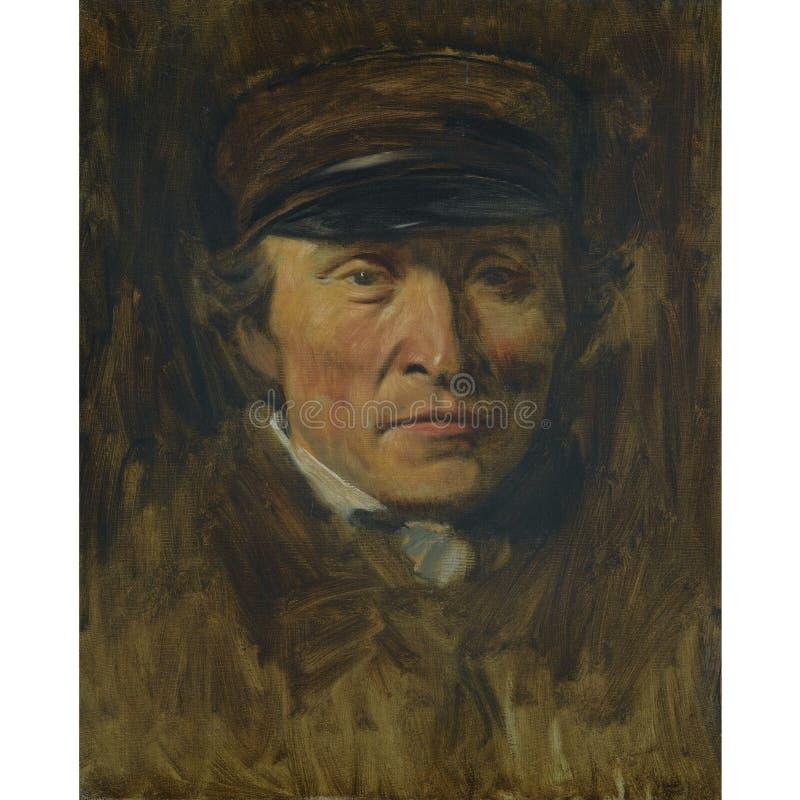 Edgar Degas - Skizze des menschlichen K?rpers stockfoto
