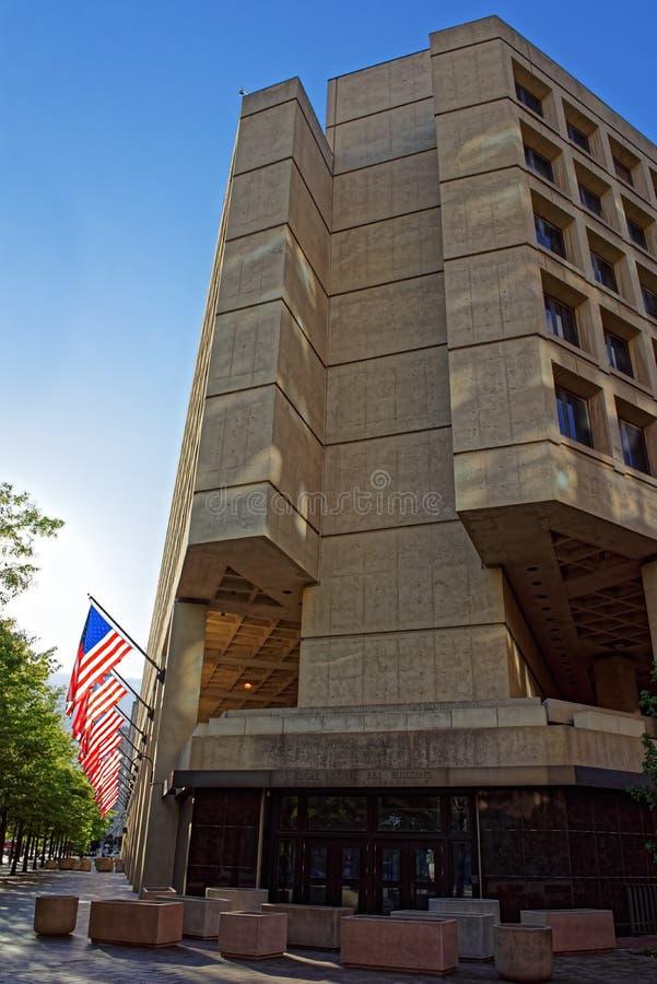Edgar Hoover Building in Washington DC stock fotografie