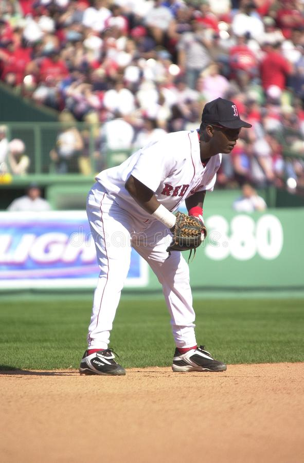 Edgar Renteria, Boston Red Sox immagini stock