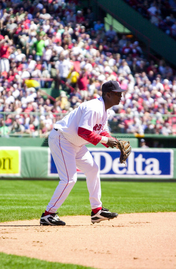 Edgar Renteria, Boston Red Sox fotografia stock