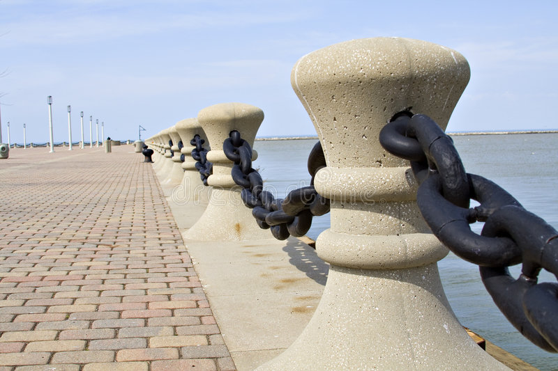 Edge Of Lake Erie Royalty Free Stock Photography