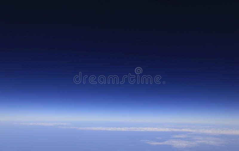 Edge of Space royalty free stock photos