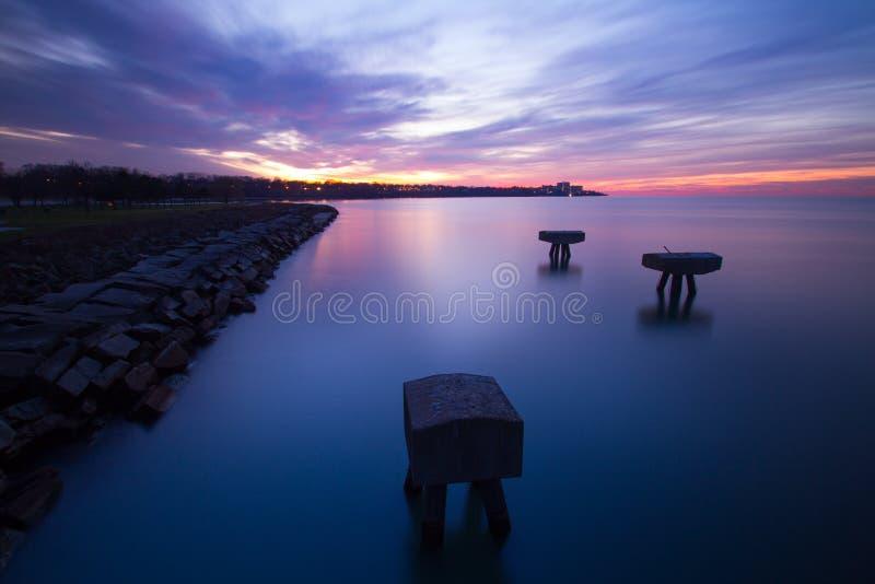 Edgewater Afterglow zdjęcia royalty free