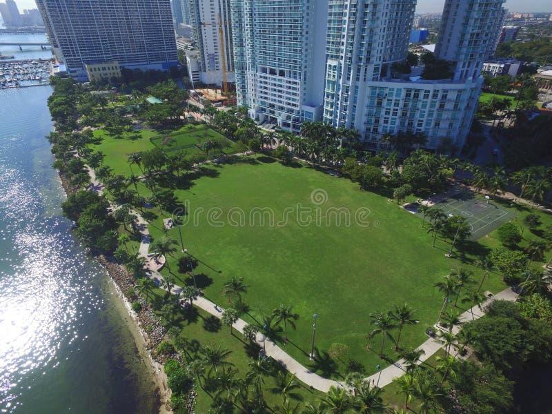 Edgewater Miami arkivbilder