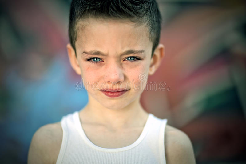 Download Edgy Boy Against Graffiti Wall Stock Photo - Image: 24566884