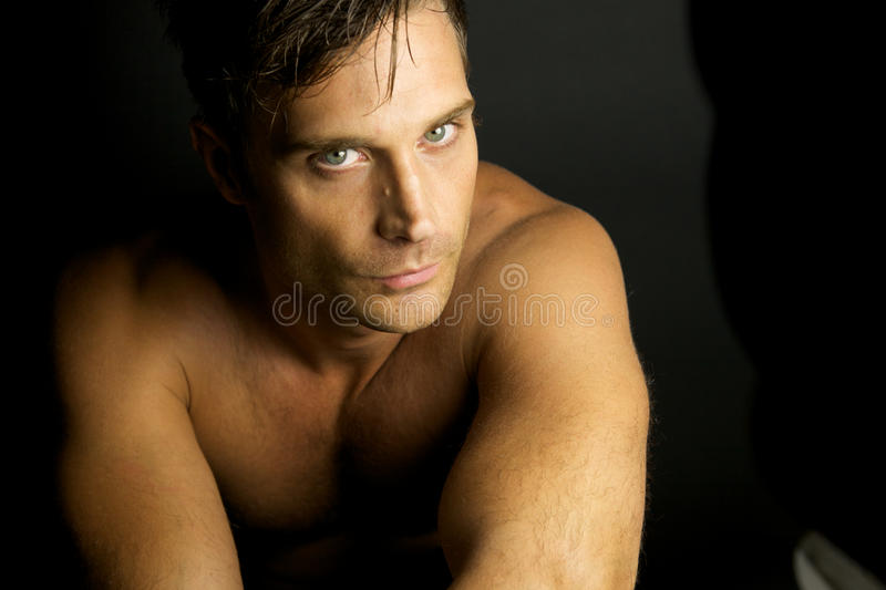 Download Edgy Man With No Shirt On Royalty Free Stock Photo - Image: 10852865