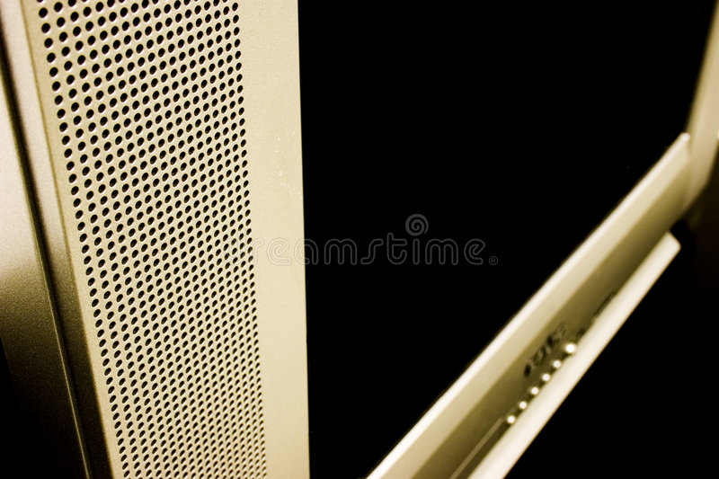 Download Edgy TV stock photo. Image of contrast, television, speaker - 45308