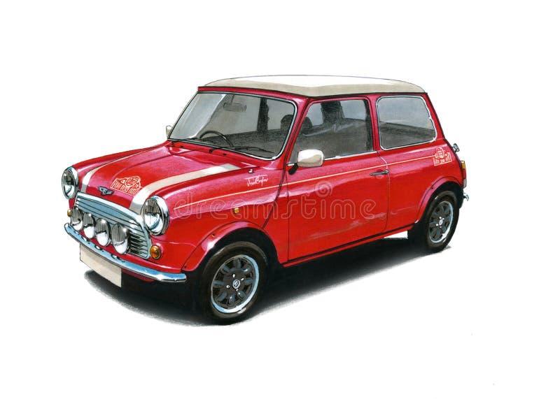 Edição de Mini Cooper Monte Carlo Special ilustração stock